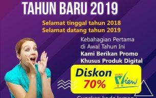 Diskon Akhir Tahun Produk Digital 2018